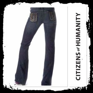 Citizens of Humanity Paloma #088 Flare Jeans
